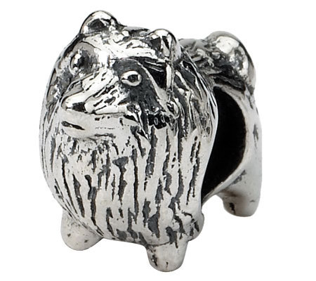 Prerogatives Sterling Pomeranian Bead