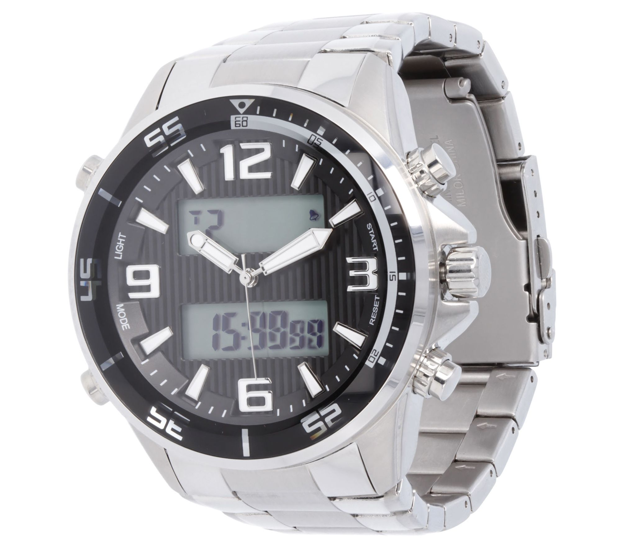 Steel by Design Mens Jewelry Watches Jewelry QVCcom
