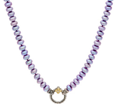 "Barbara Bixby Cultured Freshwater Pearl 19"" Necklace"