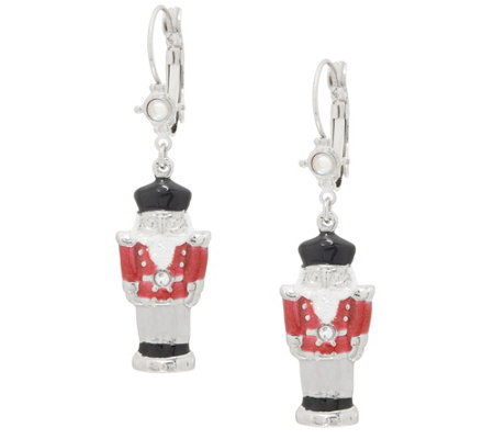 Kirks Folly Nutcracker Suite Leverback Earrings