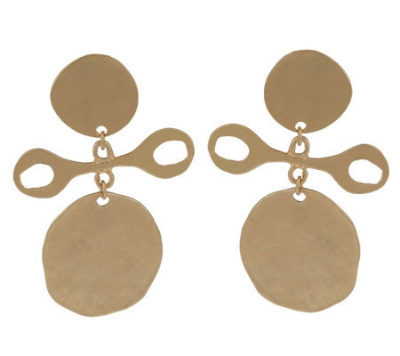 Kenneth Jay Lane's Duchess Tribal Earrings