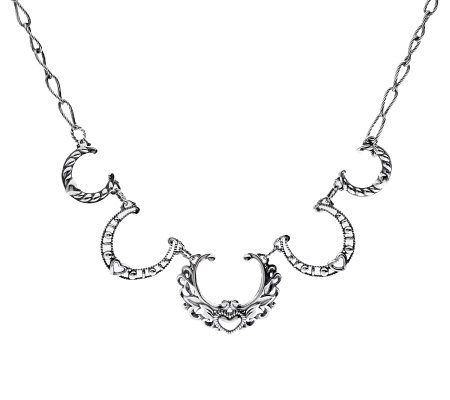 American West Bold Ornate Naja Design Sterling Necklace Page 1