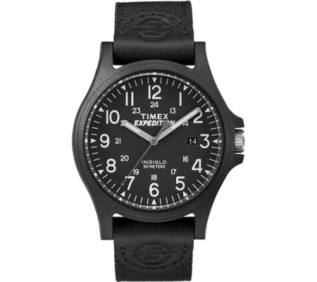 Timex Men's Expedition Acadia Black Strap Watch