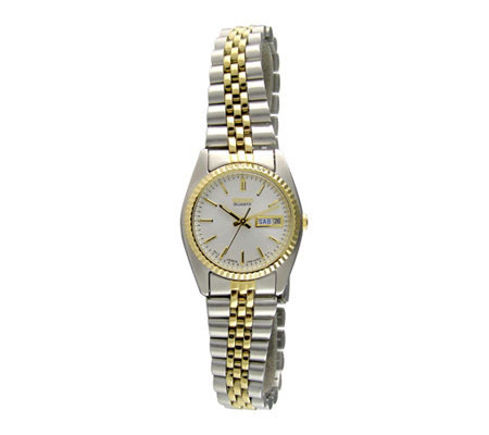 Seiko Ladies Stainless Steel Bracelet with a White Dial
