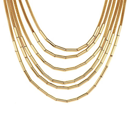 "Joan Rivers Layers of Luxury 19"" Necklace w/ 3"" Extender"