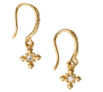My Saint My Hero Brilliance Crystal Faith Earrings - J342993