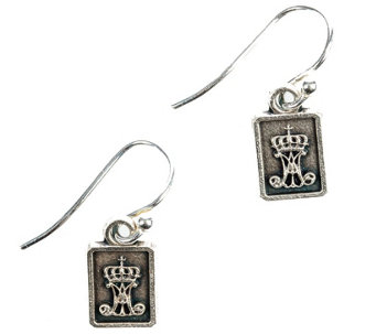 My Saint My Hero Scapular Drop Earrings - J343993