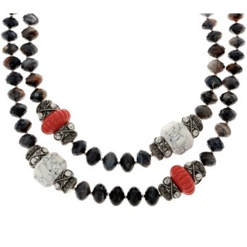 Joan Rivers The Favorite 19 Beaded Necklace w/ 3 Extender