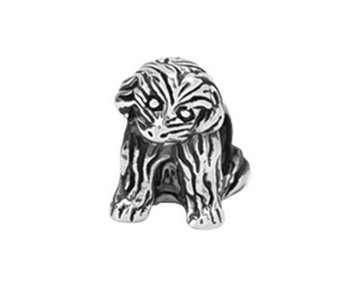Prerogatives Sterling Sitting Puppy Bead - J108394