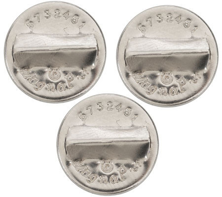Set of 3 MagnaPin Jewelry Fasteners