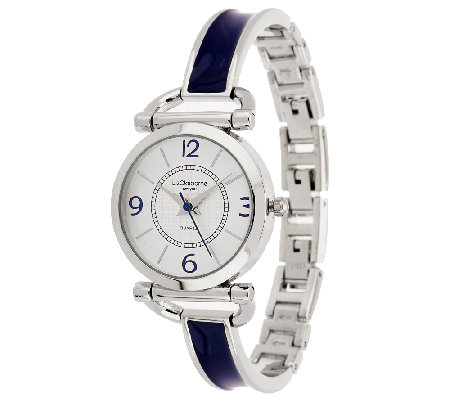 Liz Claiborne New York Enamel Bracelet Watch