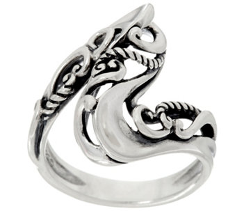 Carolyn Pollack Sterling Silver Signature Wave Ring - J330794