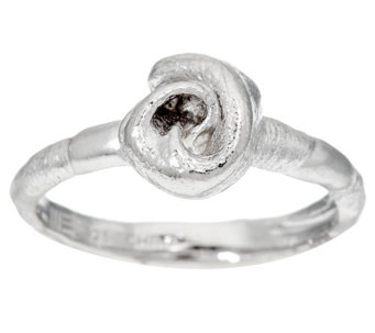 """As Is"" Mary Esses Petite Sterling Knot Ring - J330894"