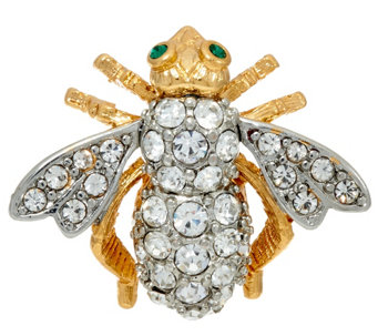 """As Is"" Joan Rivers Joan's Original Bee Pin - J335194"
