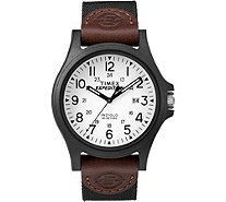 Timex Men's Expedition Acadia Brown and Black Strap Watch - J379394