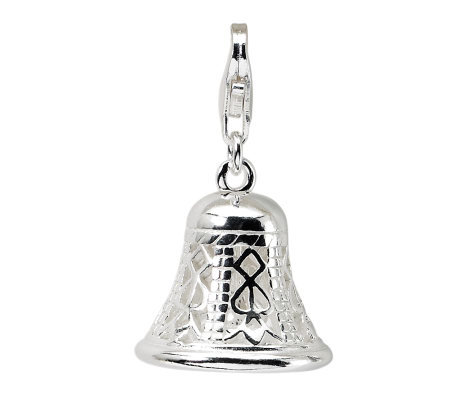 Amore La Vita Sterling Movable Bell Charm