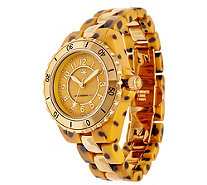 Isaac Mizrahi Live! Ceramic & Stainless Steel Watch - J324895
