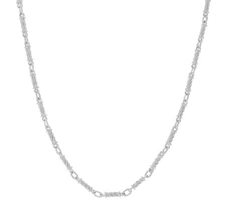 "Judith Ripka Sterling 18"" Link Necklace"
