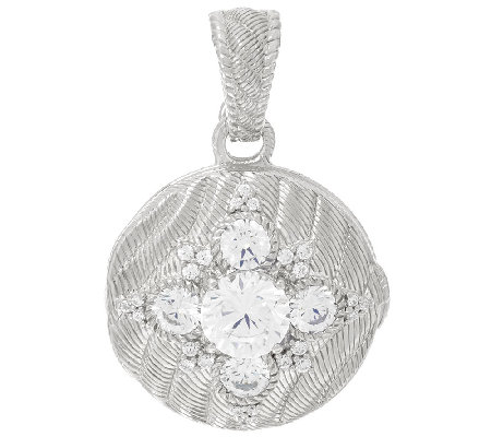 Judith Ripka Sterling Locket Enhancer