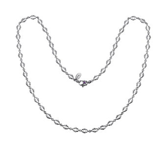 "Scott Kay Sterling Bolo Link 36"" Necklace - J342195"