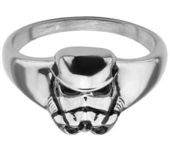 Star Wars Stainless Stormtrooper 3D Ring - J342795