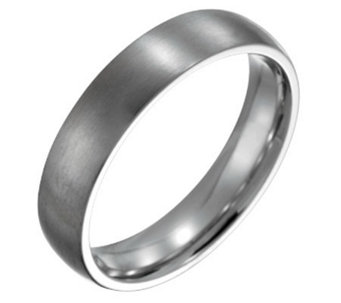 Forza Men's 5mm Steel Brushed Ring - J109496