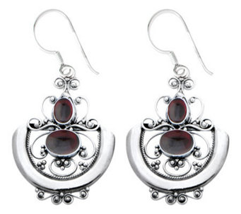 "Novica Artisan Crafted ""Sterling Arabesque"" Earrings - J307496"