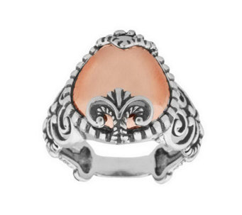 Carolyn Pollack Sterling Sincerely Fabulous Mix ed Metal Ring - J311096