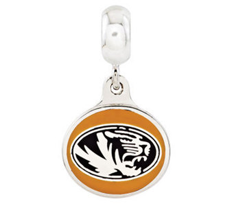 Sterling Silver University of Missouri Dangle Bead - J314996