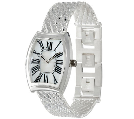 UltraFine Silver Adjustable Riccio Watch