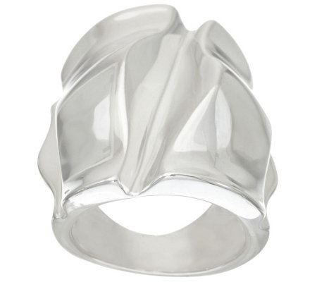 RLM Bronze Sculpted Elongated Wrinkle Ring