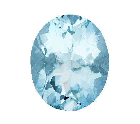 Premier 10x8mm Oval Loose Aquamarine Gemstone
