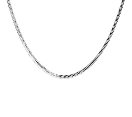 "Ultrafine Silver 16"" Snake Chain 10.0g"