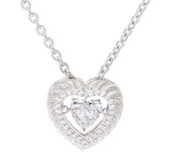 Judith Ripka Sterling Diamonique Twinkle Necklace - J327898