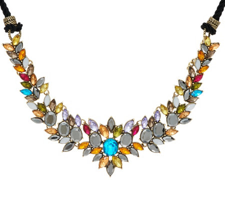 LOGO Links by Lori Goldstein Vibrant Cluster Necklace