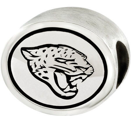 Sterling NFL Logo & Mascot Team Bead