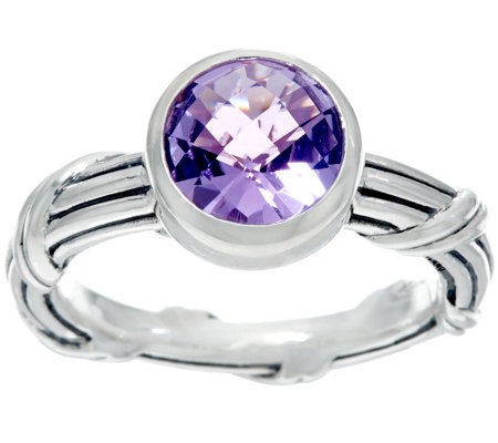 Peter Thomas Roth Sterling Fantasies Gemstone Bezel Ring