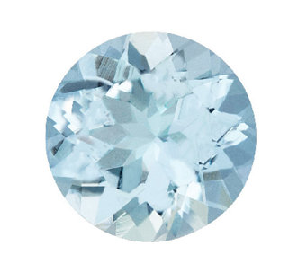 Premier 8mm Round Aquamarine Gemstone - J336099