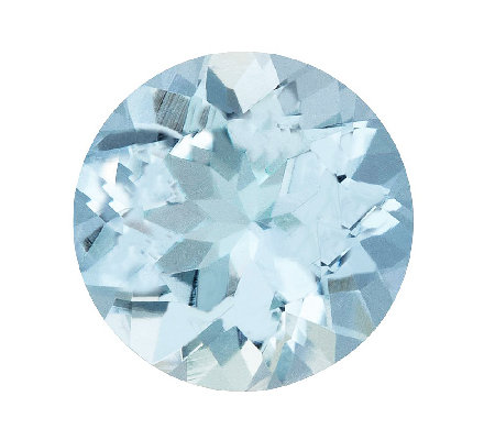 Premier 8mm Round Aquamarine Gemstone