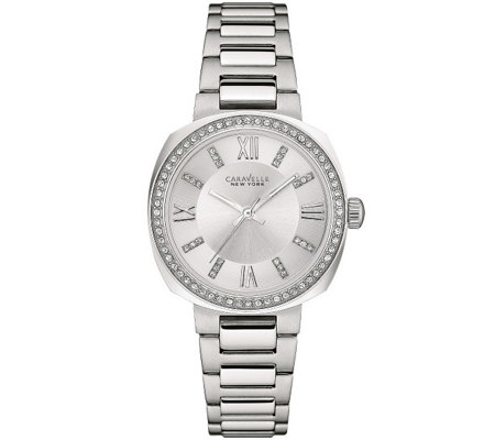 Caravelle New York Women's Crystal Accent Watch