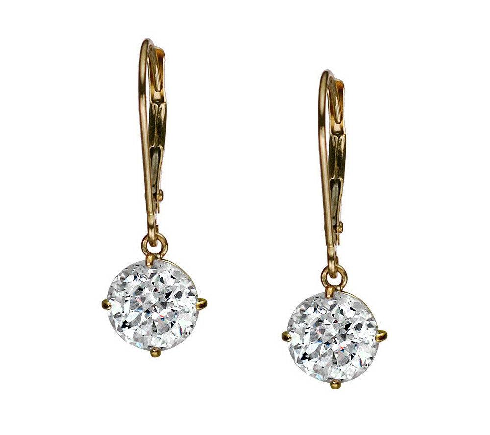 Diamonique — Earrings — Jewelry — QVC