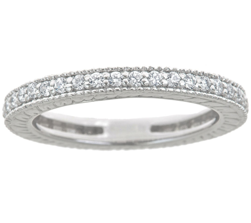 Diamond Eternity Band Ring 14K Gold 2 5cttw by Affinity — QVC