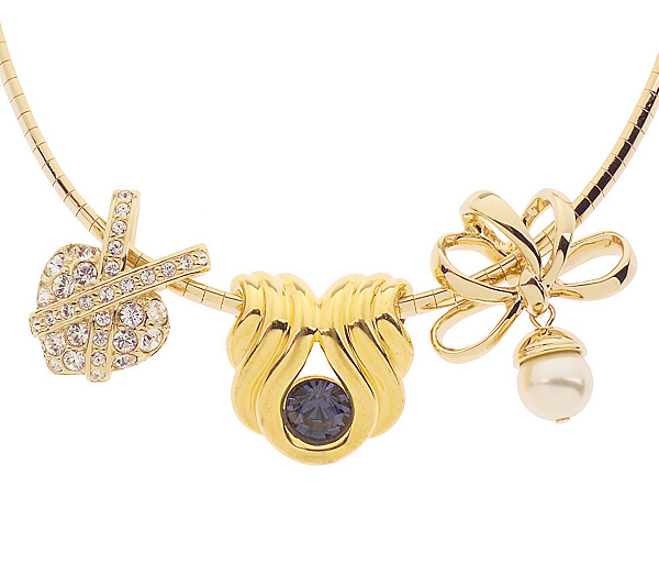 Nolan millers omega necklace slide trio page 1 qvc aloadofball Images