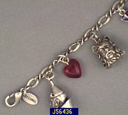 745456003 ... where to buy wizard of oz silver finish charm bracelet u2014 qvc ca3cc  6074b order pandora ...