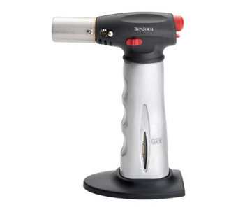 BonJour Chef's Tools Torch w/ Fuel Gauge - Brushed Aluminum - K128800