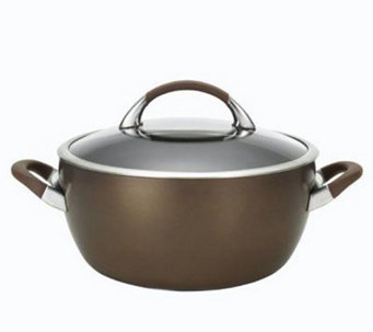 Circulon Symmetry 5.5-Qt Covered Casserole - Chocolate - K297600