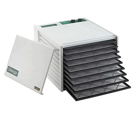 Omega 9-tray Food Dehydrator with 26-Hour Timer