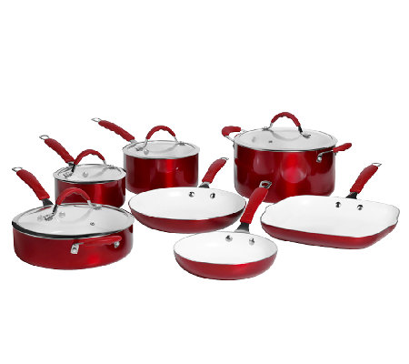 Bella 11-Piece Aluminum Cookware Set