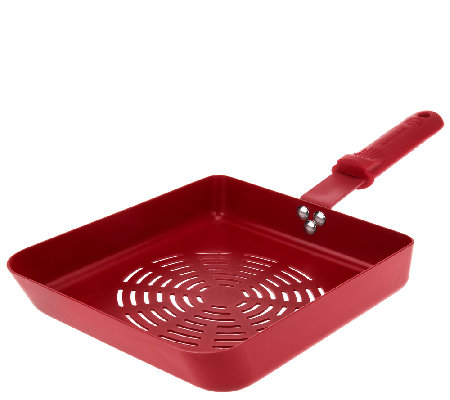 "Rectangle Non-stick BBQ 8""x10""Saute Pan by MarkCharles Misilli"