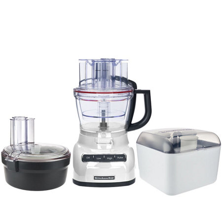 kitchenaid 13-cup exact slice food processor with dicing kit